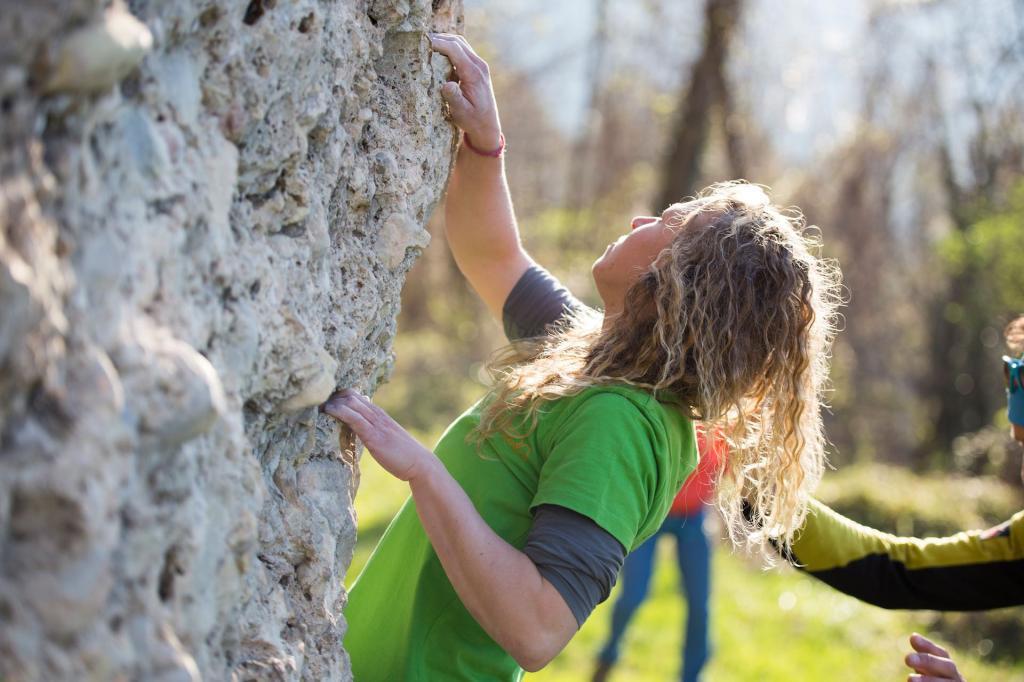 Sportklettern: Klettergärten in Comano Dolomiti