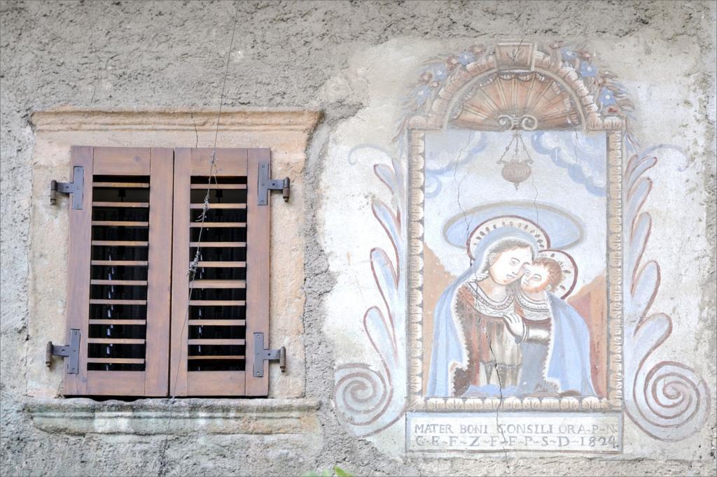 I Baschenis nella valle di Comano, dipinti e affreschi