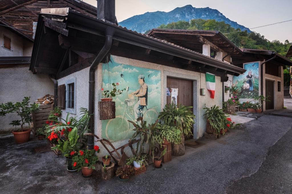 Balbido, il paese dipinto