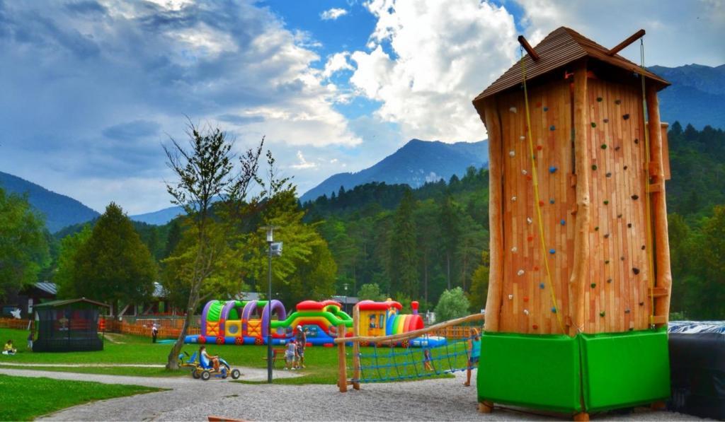 <b>VillagGino,</b> un parco giochi animato
