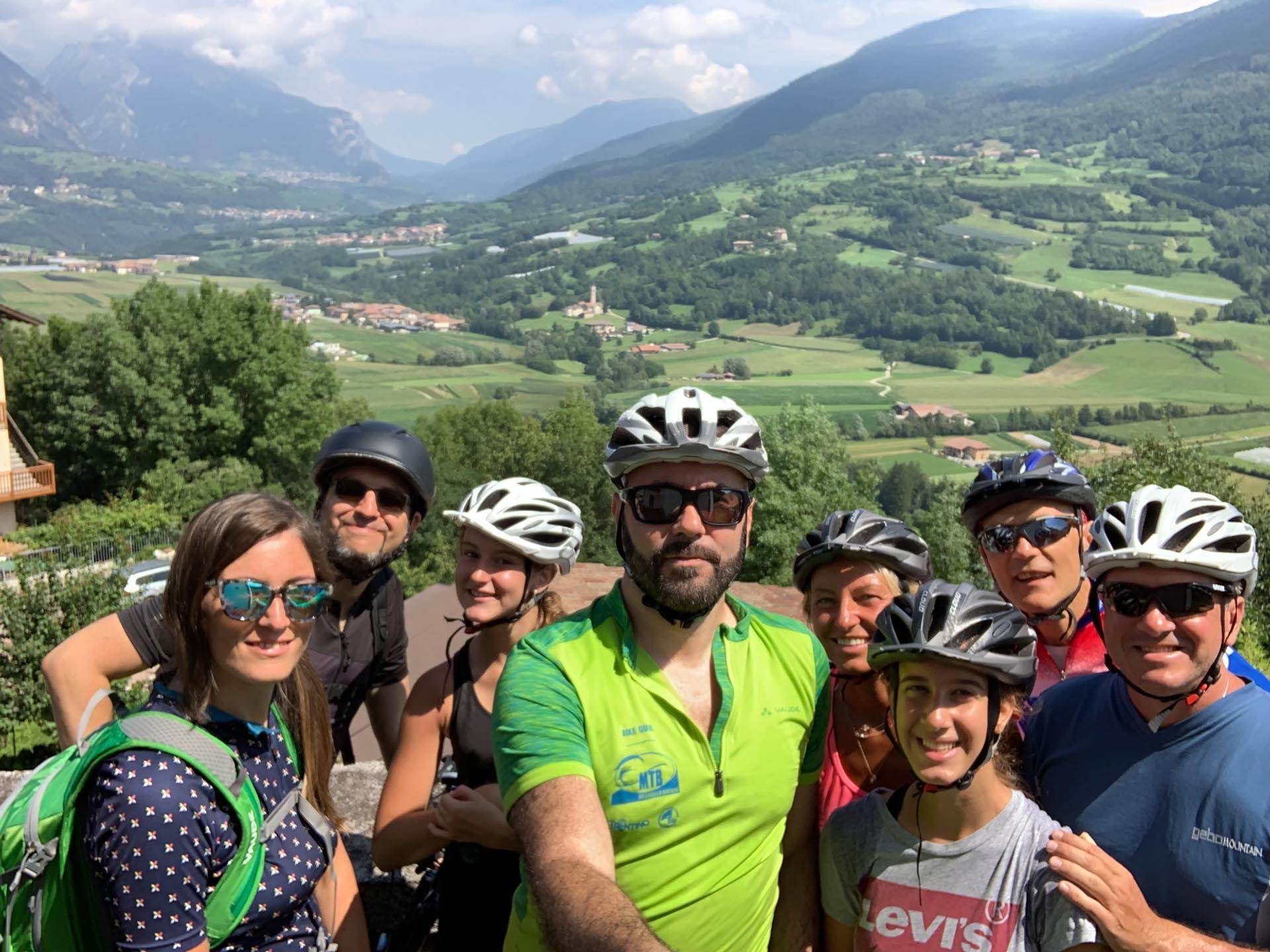 Comano Dolomiti bicicletta Davide Aldrighetti bike guide & passion road bike mtb gravel emtb ebike